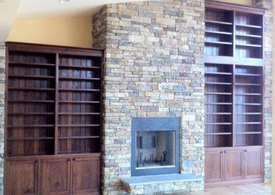 Custom Built Book Shelves