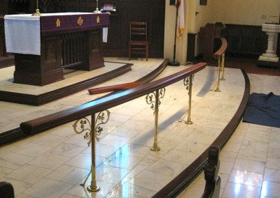 Replacement altar rail 3-1.16 (7)
