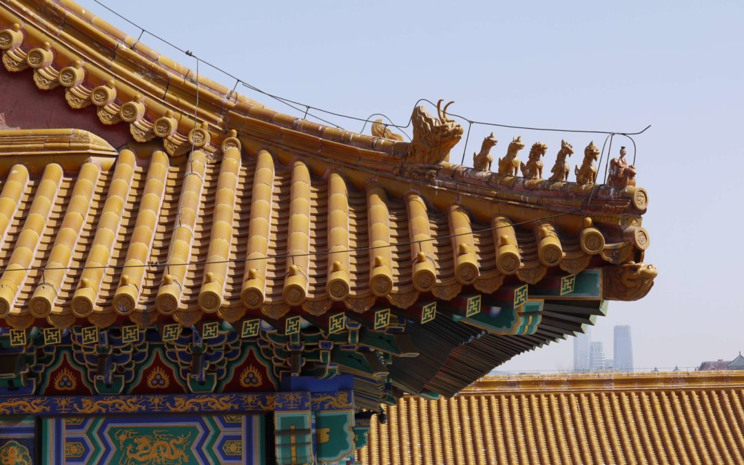 Visiting the Forbidden City in Beijing