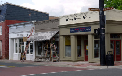 Traditional Wood Storefront in Leesburg, VA